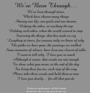 we have been through